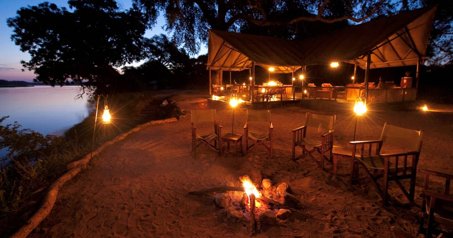 The Boma at Old Mondoro Bush Camp