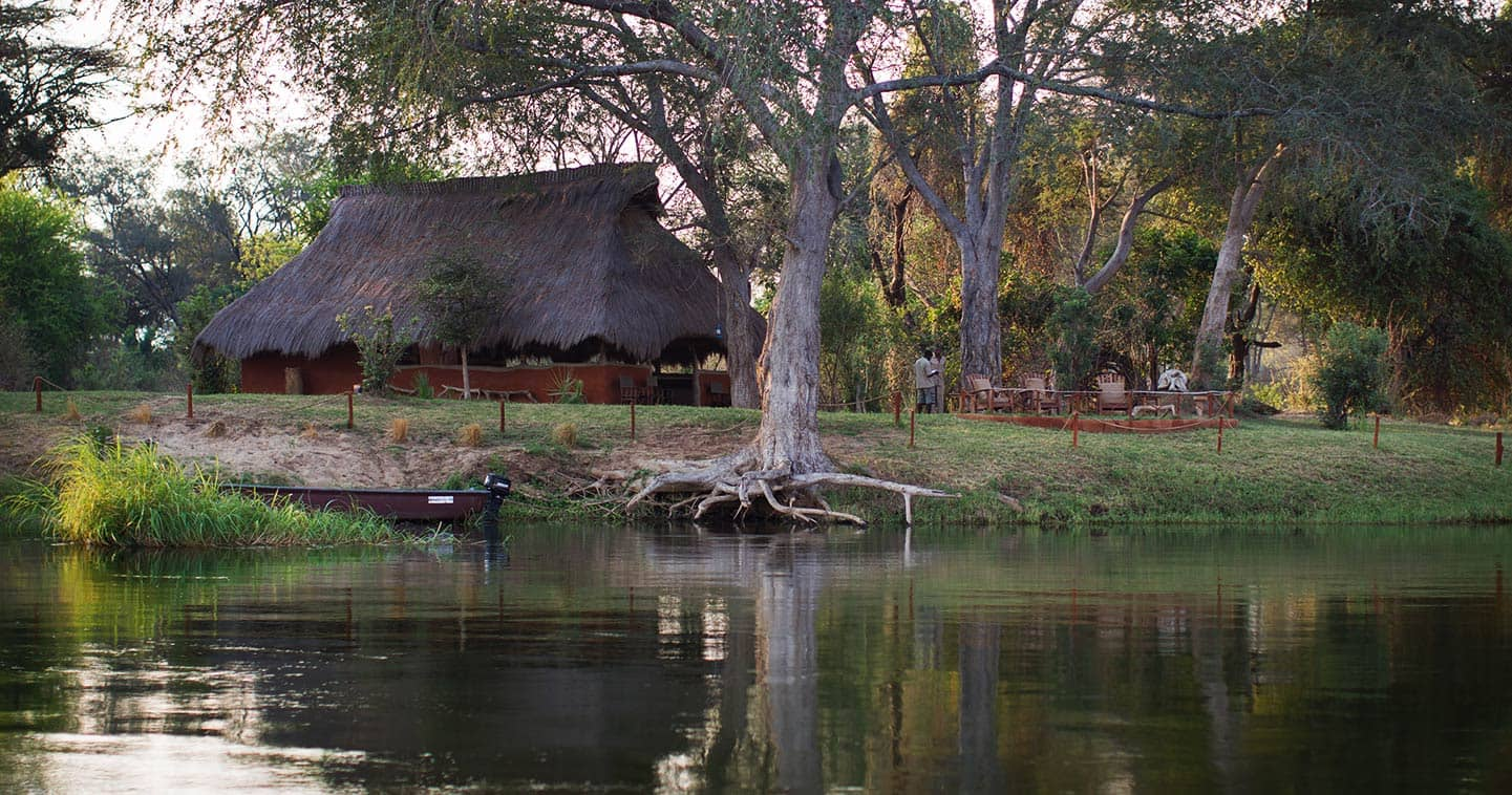Tsika Island Bush Camp in the Lower Zambezi National Park