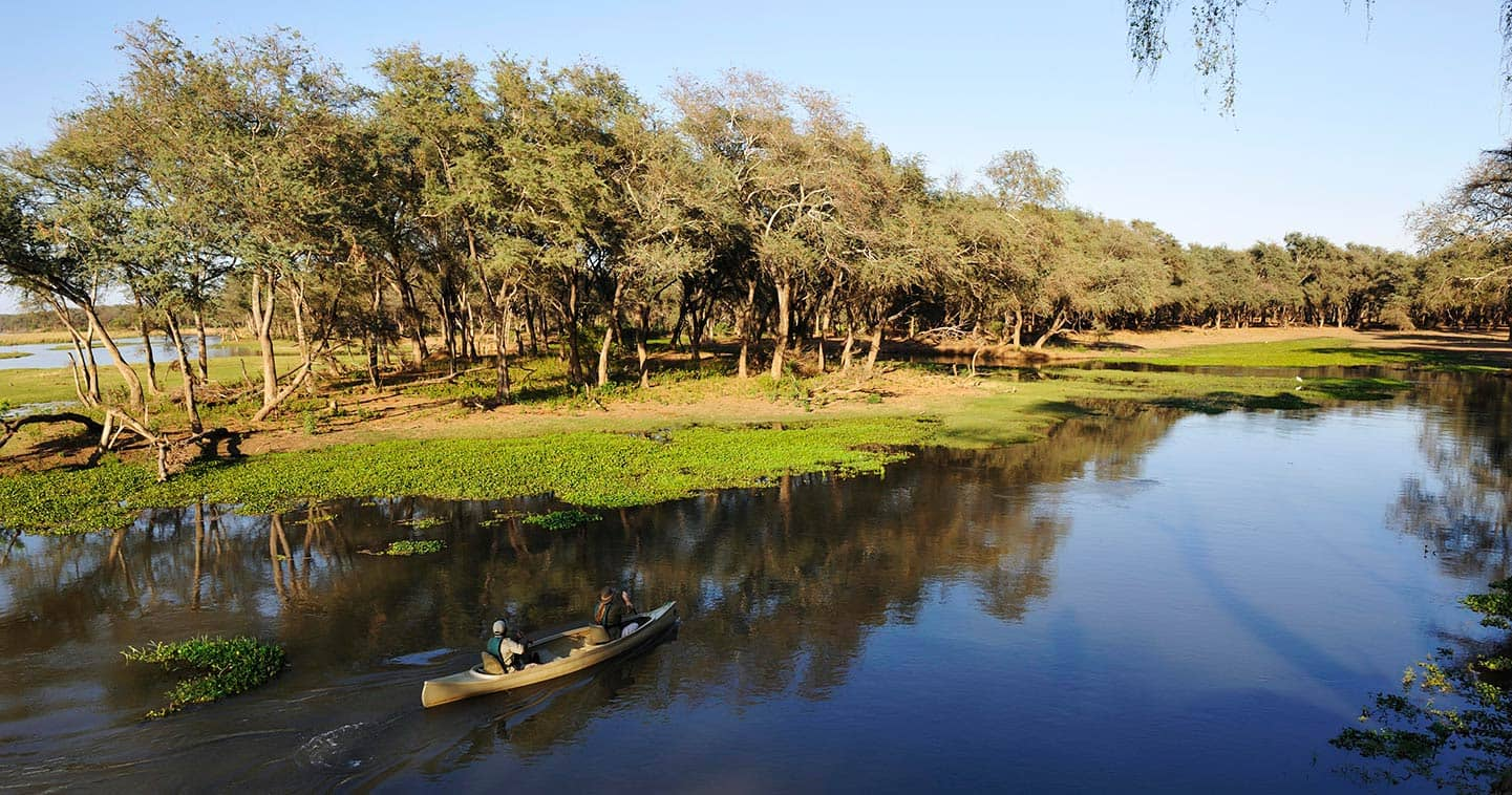 Let Old Mondoro Bush Camp take you on Water Safari in the Lower Zambezi National Park