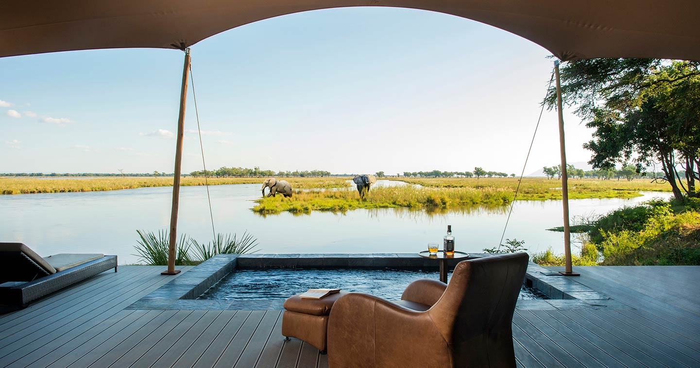 Let Sausage Tree Camp take you on Water Safari in the Lower Zambezi National Park