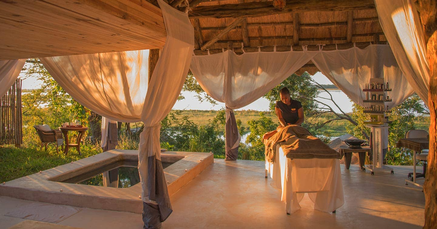 Complete Relaxation at the Spa in Royal Zambezi Lodge